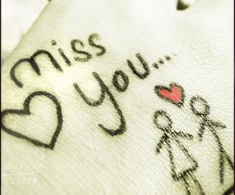 اشتقت لك صور حزينة Sad Images