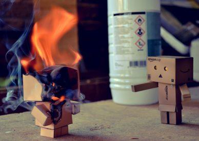 صور لدانبو يحترق, Danbo